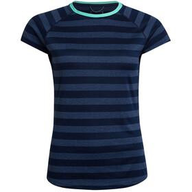 Berghaus Stripe Tech 2.0 T-shirt Damer, blå
